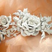 Свадебный салон handmade. Livemaster - original item The colors of the skin. Bridal hairpin. Handmade.