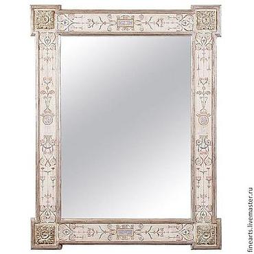 """Для дома и интерьера ручной работы. Ярмарка Мастеров - ручная работа Зеркало в раме """" Иль де Франс"""" ручной работы. Handmade."""