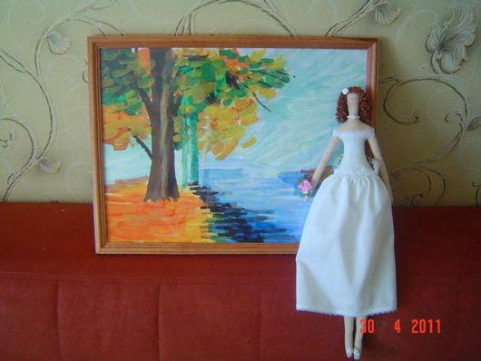 Куклы Тильды ручной работы. Ярмарка Мастеров - ручная работа. Купить Принцессы с картиной. Handmade. Тильда