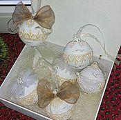 Подарки к праздникам ручной работы. Ярмарка Мастеров - ручная работа Набор шаров в коробке. Handmade.