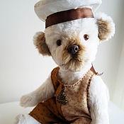 Куклы и игрушки ручной работы. Ярмарка Мастеров - ручная работа собака игрушка тедди Щенок. Handmade.