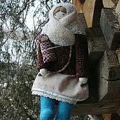 Народная кукла ручной работы. Ярмарка Мастеров - ручная работа Игровая куколка. Handmade.