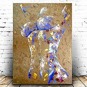 Картины и панно handmade. Livemaster - original item Painting nude girl Painting in the bedroom in the nude style. Handmade.