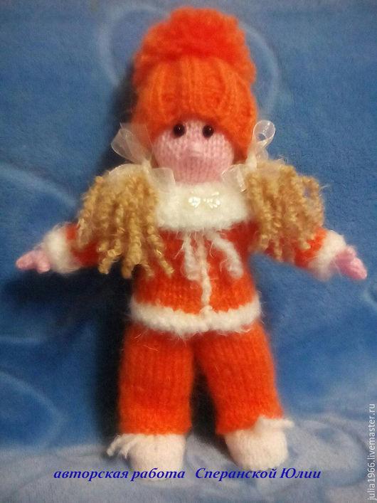 """Вязание ручной работы. Ярмарка Мастеров - ручная работа. Купить Мастер - класс """"Кукла Алька"""".. Handmade. Как связать куклу"""