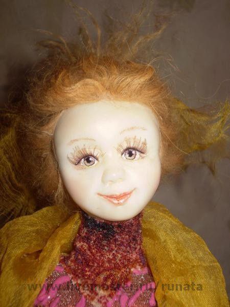 """Коллекционные куклы ручной работы. Ярмарка Мастеров - ручная работа. Купить """"Грёзы"""". Handmade. Глаза расписаны акрилом"""