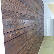Для дома и интерьера handmade. Livemaster - original item Wall of solid brushed. Handmade.