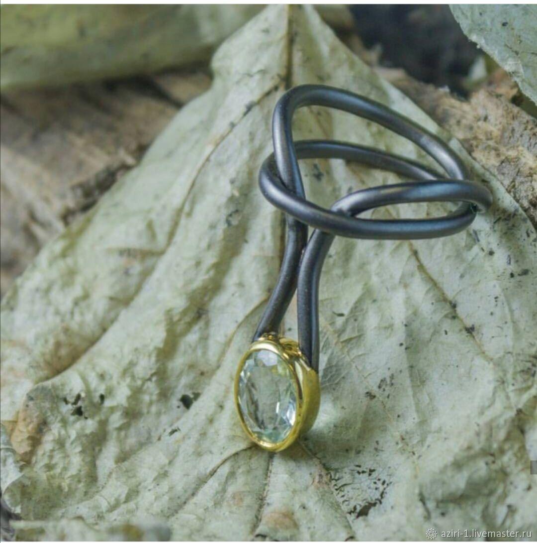 Дизайнерское кольцо 925 пробы German Kabirski, Кольца, Санкт-Петербург,  Фото №1