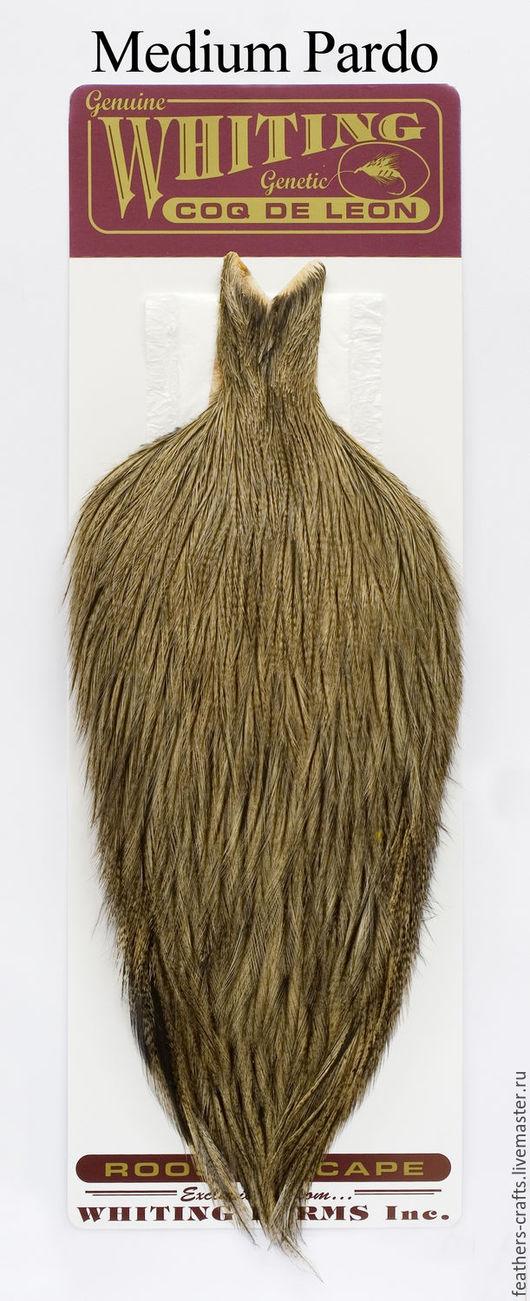 Другие виды рукоделия ручной работы. Ярмарка Мастеров - ручная работа. Купить Перья Coq de Leon Rooster Cape (51801043). Handmade.