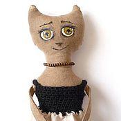 Куклы и игрушки ручной работы. Ярмарка Мастеров - ручная работа Кофейная кото-барышня Маника. Handmade.
