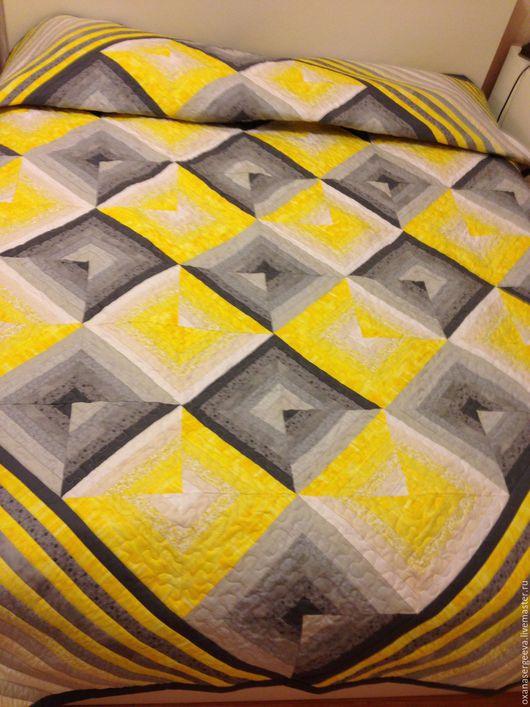Текстиль, ковры ручной работы. Ярмарка Мастеров - ручная работа. Купить Тени исчезают.... Handmade. Пэчворк, лоскутный, перспектива