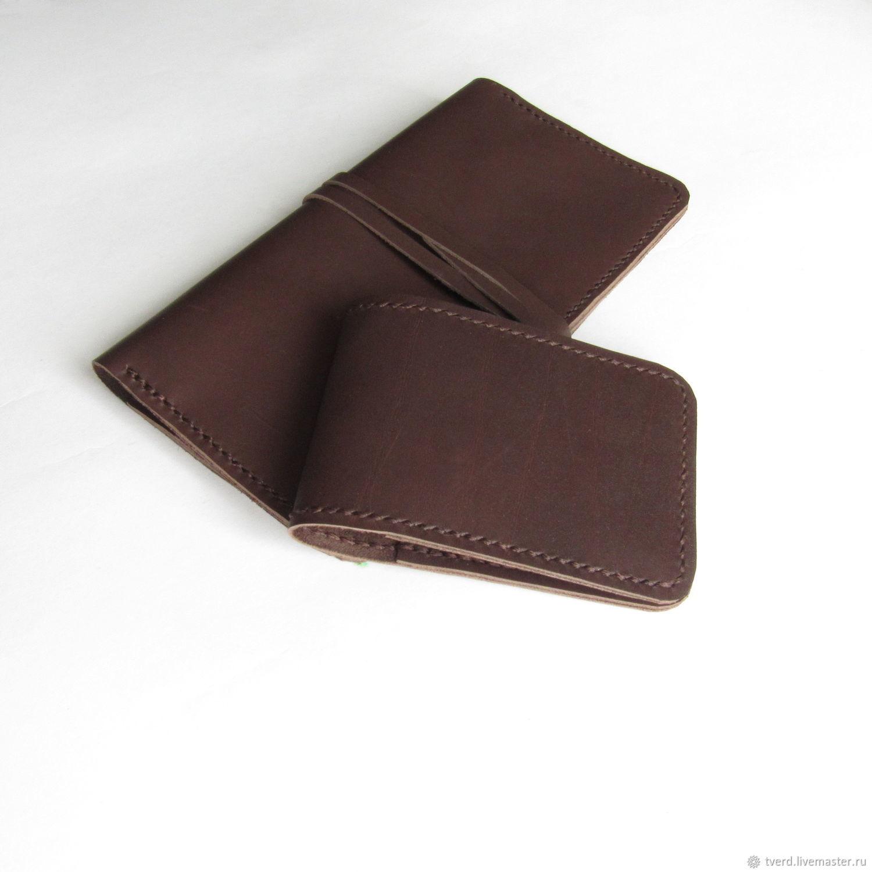 0fa1fececf6c ... коричневое коричневый картхолдер, коричневая визитница, купить подарок  ручной работы для мужа, кожаная визитница, , купить мужской кошелек ...