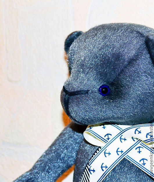 """Мишки Тедди ручной работы. Ярмарка Мастеров - ручная работа. Купить Мишка """"Мигель"""". Handmade. Серый, мишка ручной работы"""