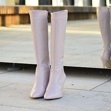 Обувь ручной работы. Ярмарка Мастеров - ручная работа Сапоги женские. Handmade.