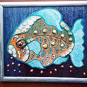 Картина. Рыба-теща