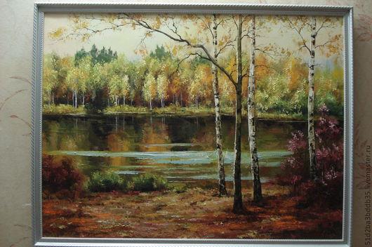 Пейзаж ручной работы. Ярмарка Мастеров - ручная работа. Купить пейзаж. Handmade. Картина, картина в подарок, картина для интерьера