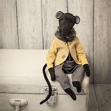 Куклы и игрушки ручной работы. Ярмарка Мастеров - ручная работа Крыс Бёртон. Handmade.