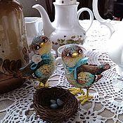 Куклы и игрушки ручной работы. Ярмарка Мастеров - ручная работа Весна! Щебечут птицы). Handmade.