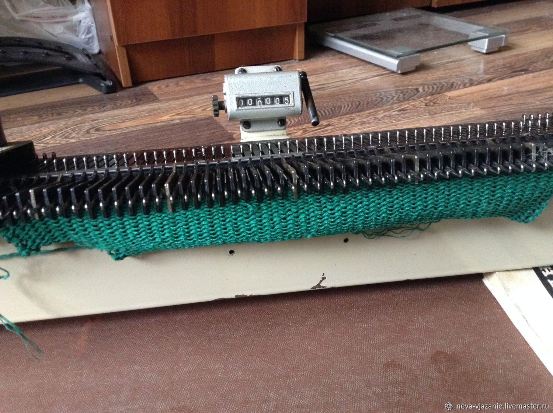 Фото вязаных изделий на вязальной машине