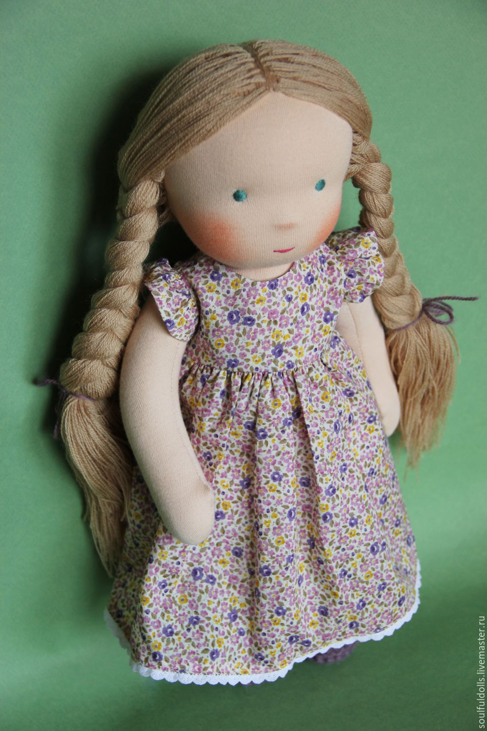Chloe, Waldorf doll – shop online on Livemaster with shipping ...