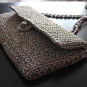 Сумки и аксессуары handmade. Livemaster - original item clutch bag knitted. Handmade.