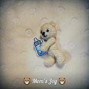 Куклы и игрушки ручной работы. Ярмарка Мастеров - ручная работа Медвежонок Ляля. Handmade.