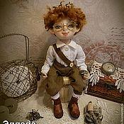 Куклы и игрушки ручной работы. Ярмарка Мастеров - ручная работа Текстильная кукла Томас для Елены.. Handmade.