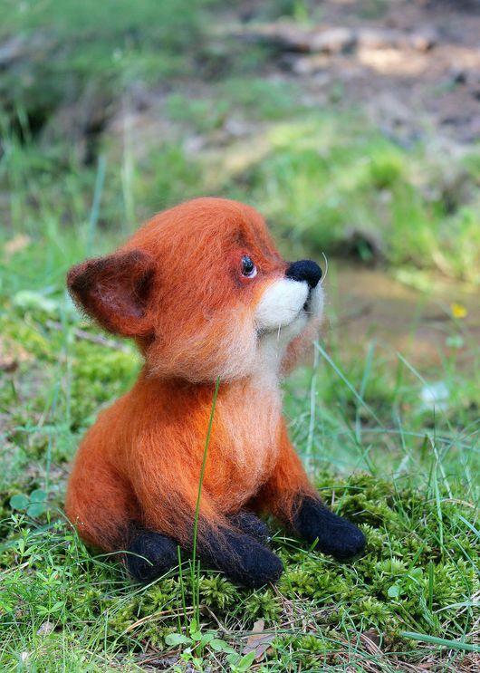 Игрушки животные, ручной работы. Ярмарка Мастеров - ручная работа. Купить Огонек. Handmade. Рыжий, лисичка, лисица, маленький лисенок