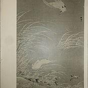 Материалы для творчества handmade. Livemaster - original item Reproduction vintage ancient Japanese painting.. Handmade.