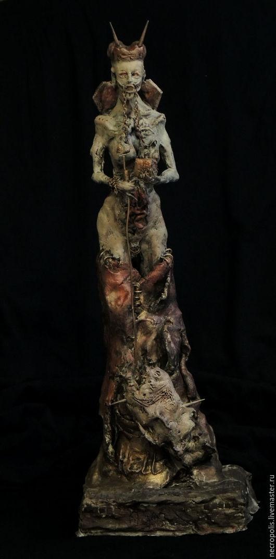 Готика ручной работы. Ярмарка Мастеров - ручная работа. Купить Аnglerfish. Handmade. Дьявол, йтакуа