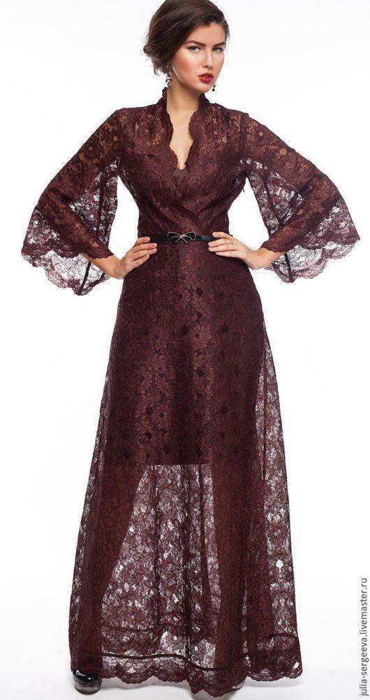 Платья ручной работы. Ярмарка Мастеров - ручная работа. Купить Платье два в одном для особенных девушек. Handmade. Кружево