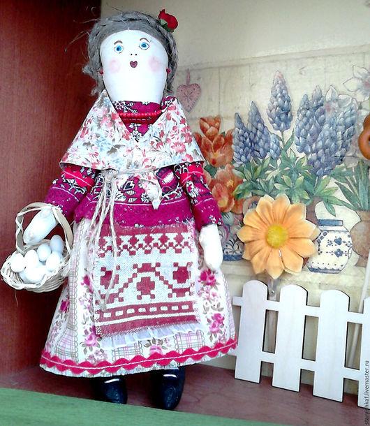 Народные куклы ручной работы. Ярмарка Мастеров - ручная работа. Купить Народная кукла Авдотья - оберег на успех в делах. Handmade.