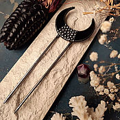 Украшения handmade. Livemaster - original item Black Comb (h2-002-04). Handmade.