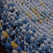 """Для дома и интерьера ручной работы. Ярмарка Мастеров - ручная работа ПРОДАН Коврик текстильный """"Мальдивы"""". Handmade."""
