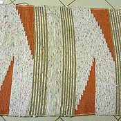 Русский стиль ручной работы. Ярмарка Мастеров - ручная работа Половик тканый. Handmade.
