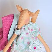 Куклы и игрушки ручной работы. Ярмарка Мастеров - ручная работа ТИЛЬДА ЛИСА!. Handmade.