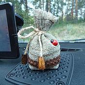 """Сувениры и подарки ручной работы. Ярмарка Мастеров - ручная работа Аромасаше """"Кофейный мешочек"""". Handmade."""