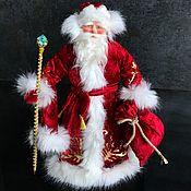 Народная кукла ручной работы. Ярмарка Мастеров - ручная работа Авторская кукла Дед Мороз 41 см. Handmade.