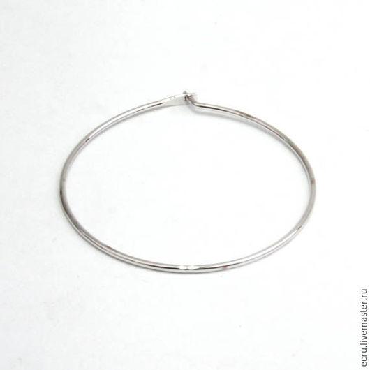 Швензы кольца, родиевое покрытие , фурнитура Южная Корея