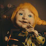 Текстильная кукла. Ксюша
