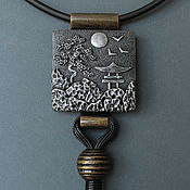 Украшения handmade. Livemaster - original item Necklace polymer clay Japan. Handmade.