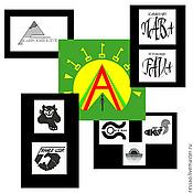 Дизайн и реклама handmade. Livemaster - original item Logos, avatars. Handmade.
