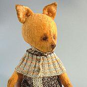 Куклы и игрушки ручной работы. Ярмарка Мастеров - ручная работа Лисичка 1 друг тедди. Handmade.