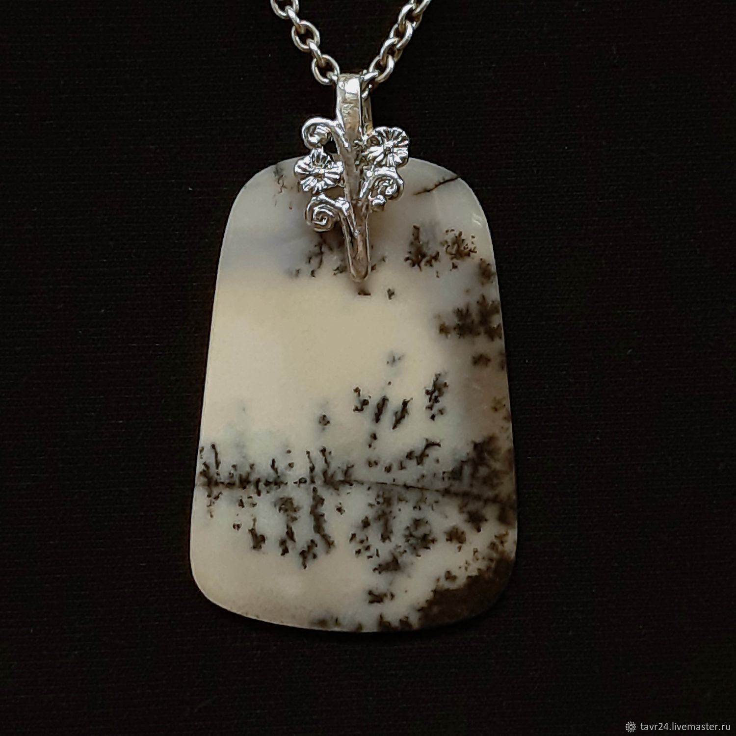 pendant №14. Chalcedony, an agate, agate Moholy, Pendant, St. Petersburg,  Фото №1