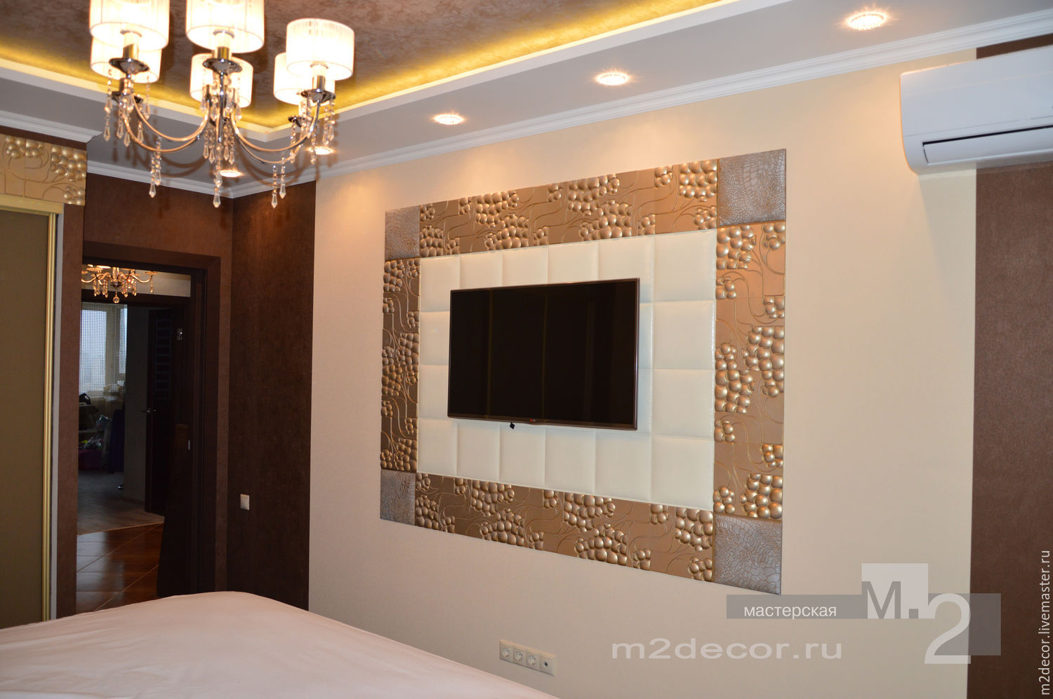 Decorative Interior Plastering : Bedroom decor decorative plaster panels shop online on