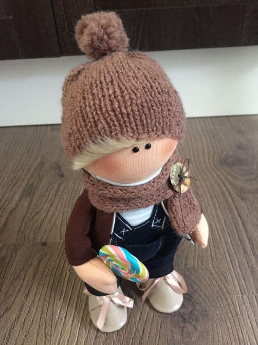 Коллекционные куклы ручной работы. Ярмарка Мастеров - ручная работа. Купить Кукла интерьерная  Сёма. Handmade. Интерьерная кукла, тильда