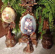 """Подарки к праздникам ручной работы. Ярмарка Мастеров - ручная работа Яйцо """" Пасхальный поцелуй"""". Handmade."""