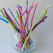 Композиции ручной работы. Ярмарка Мастеров - ручная работа Цветные веточки для декора. Handmade.