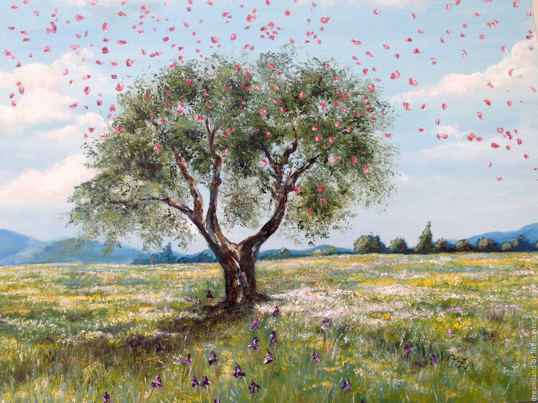 Oil painting ' Summer bloom', Pictures, Vladivostok,  Фото №1