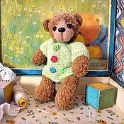 Куклы и игрушки ручной работы. Ярмарка Мастеров - ручная работа Мишка по имени Веснушка. Handmade.