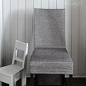 Для дома и интерьера ручной работы. Ярмарка Мастеров - ручная работа Чехол на стул. Handmade.